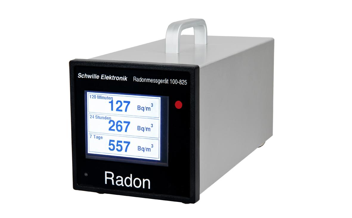 Produktfoto des Radon Messgeräts