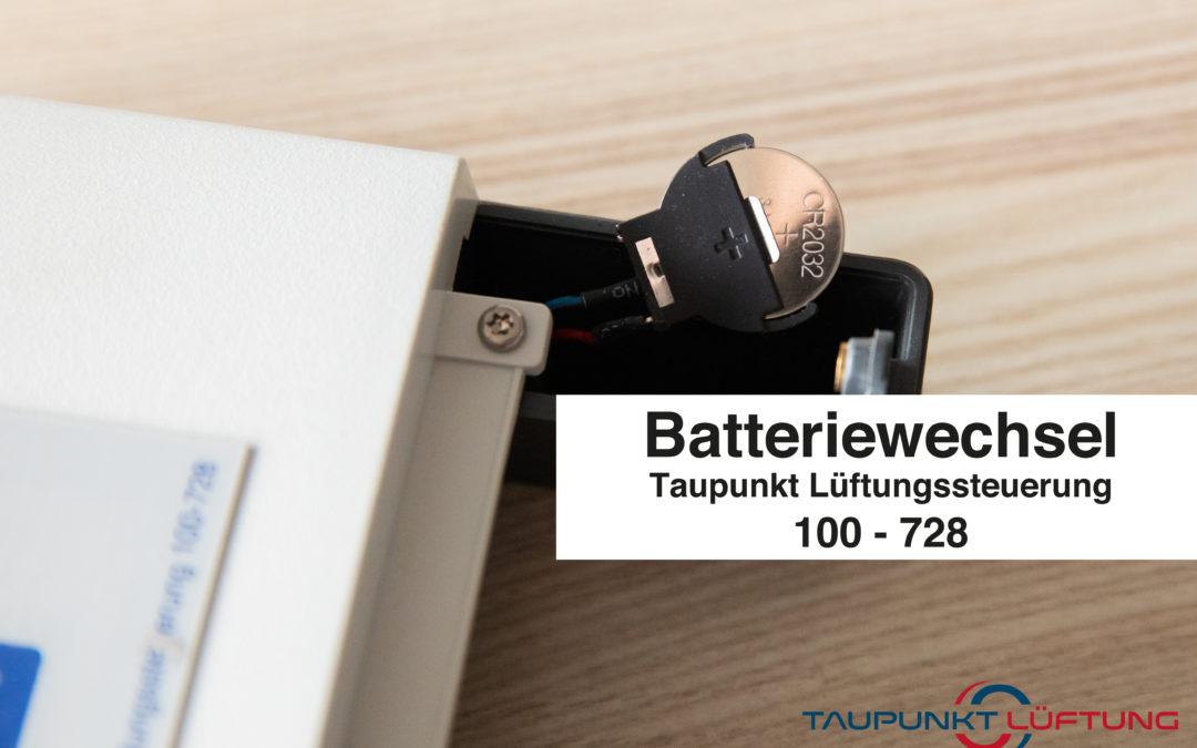 Videoanleitung zum Batteriewechsel 100-728