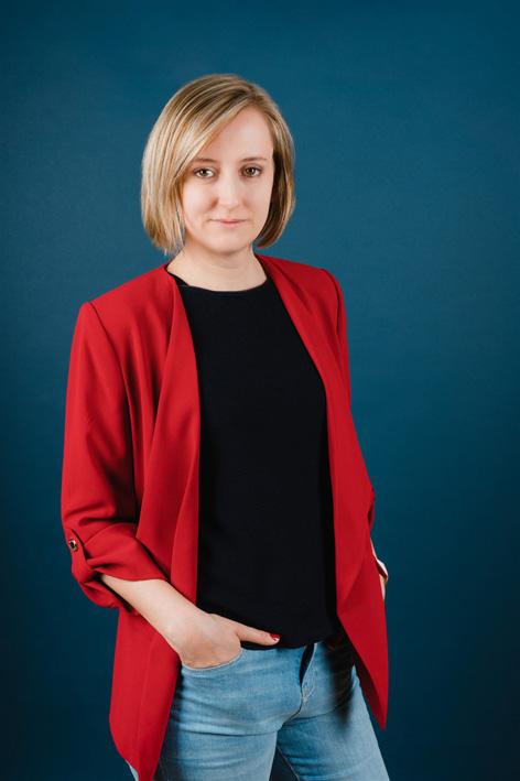 Portraitfoto der Geschäftsführerin Ulrike Schwille