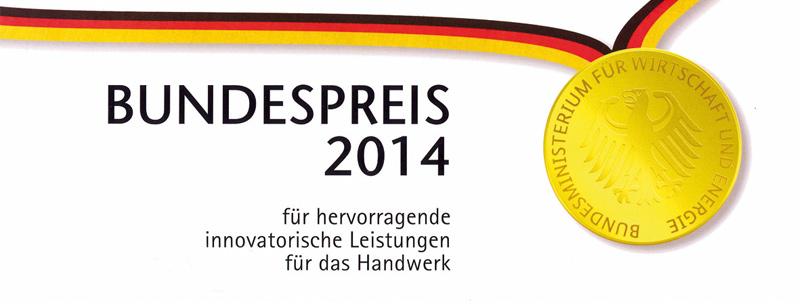 Bundespreis Logo für herausragende Innovation