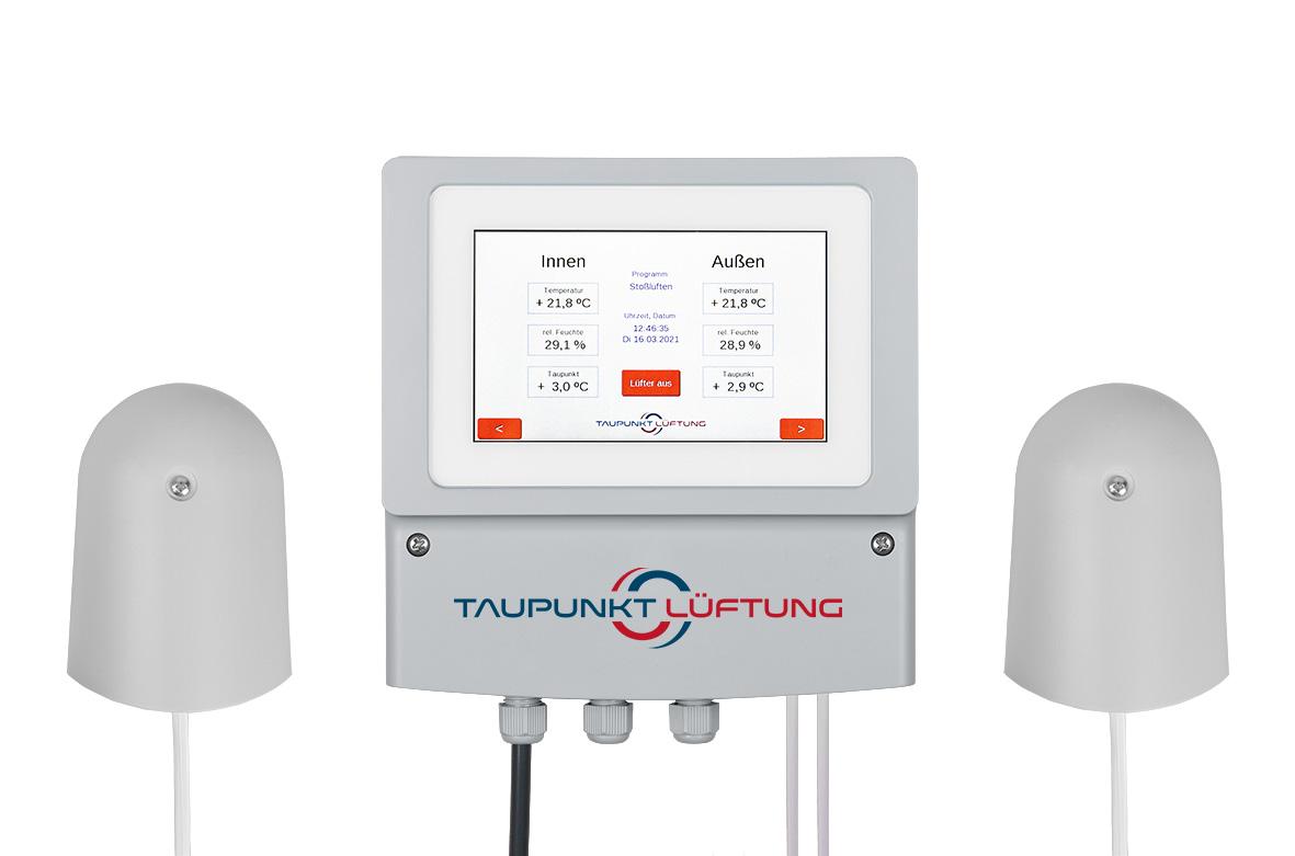 Universal Lüftung Touch mit Datenspeicherung als Produktbild