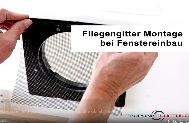 Videoanleitung: Fliegengitter Montage bei Fenstereinbau